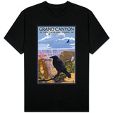Grand Canyon National Park - Ravens and Angels Window T-Shirts