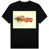 Ford Mustang Watercolor T-Shirt