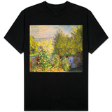 A Corner of the Garden at Montgeron, 1876-7 T-shirts