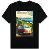 Monterey, California - VW Van Skjorte