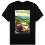 Monterey, California - VW Van Shirt