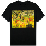 Tiger in a Tropical Storm (Surprised!) 1891 T-shirts
