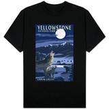 Lamar Valley Scene, Yellowstone National Park T-shirts
