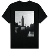 View of Big Ben from Across the Westminster Bridge T-shirts