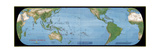 2000 Coral World Map Plakater af  National Geographic Maps