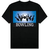 Bowling Blue T-shirts
