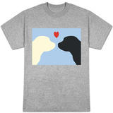 Blue Puppy Love T-shirts