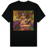 A Pathway in Monet's Garden, Giverny, 1902 T-Shirt