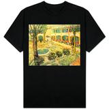 The Asylum Garden at Arles, c.1889 T-skjorte
