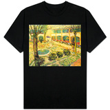The Asylum Garden at Arles, c.1889 T-Shirt