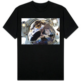 Astronaut In Space Self Portrait T-Shirt