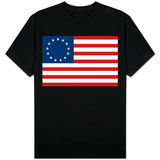 American Colonial National Flag T-shirts