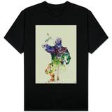 Ninja Watercolor T-shirts
