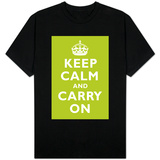 Keep Calm and Carry On (Kiwi) T-Shirt