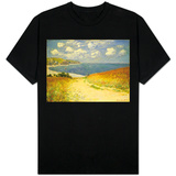 Path in the Wheat at Pourville, 1882 T-shirts