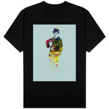 Charlie Chaplin Watercolor T-Shirt