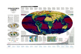 1997 Endangered Earth Map Poster by  National Geographic Maps