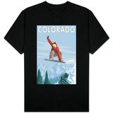 Colorado, Snowboarder Jumping Shirt