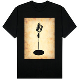 Vintage Microphone T-shirts