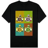 Camera Vintage Style Shirts