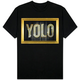 YOLO Bling Faux Frame T-shirts