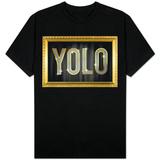 YOLO Bling Faux Frame T-Shirt