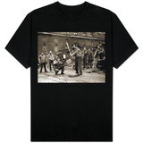 15 American Soldiers Playing Baseball Amid the Ruins of Liverpool, England 1943 T-Shirt