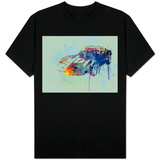 Corvette Watercolor T-Shirt