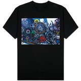 Williamsburg Brooklyn Psychedelic Graffiti Shirts