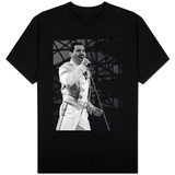 Queen Rock Group Freddie Mercury in Concert at St. James Park in Newcastle, July 1986 T-Shirt