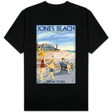 Jones Beach Scene, New York T-Shirt