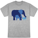 Blue Elephants Shirts