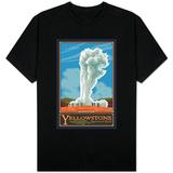 Old Faithful Geyser, Yellowstone National Park, Wyoming T-skjorter