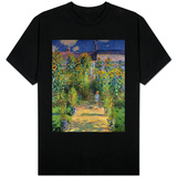 The Artist's Garden at Vetheuil, 1880 Shirts