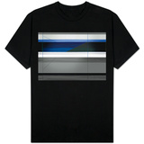 Abstract Grey and Blue T-shirts
