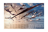 2003 100 Years of Flight Theme Posters by  National Geographic Maps