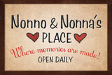 Nonno and Nonna's Place Poster Posters