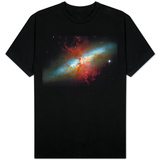 Happy Sweet Sixteen Hubble Telescope Starburst Galaxy M82 Space Shirts
