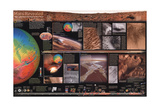 2001 Mars Revealed, A New Look at Forces That Shape the Desert Planet Print by  National Geographic Maps