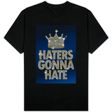 Haters Gonna Hate Blue Bling T-shirts