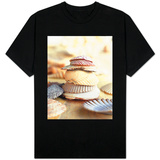 Colored Seashells T-shirts