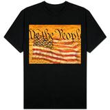 Verfassung und amerikanische Flagge T-Shirts