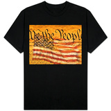 Constitution and U.S. Flag T-Shirt