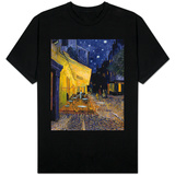 Cafe Terrace at Night Shirt