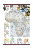 2001 Africa Oggi Map Prints