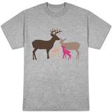 Pink Deer T-shirts