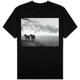 Winter Wonderland: Snow Scene in the Lake District, January 1946 Shirts
