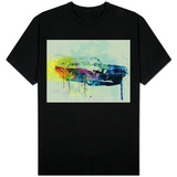 Ford Mustang Watercolor 2 Shirts