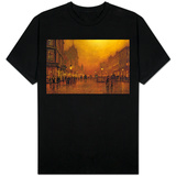 A Street at Night T-shirts