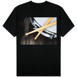 Snare Drum and Drumsticks T-Shirt